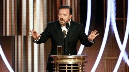 El comediante Ricky Gervais participa de la campaña. (Reuters)
