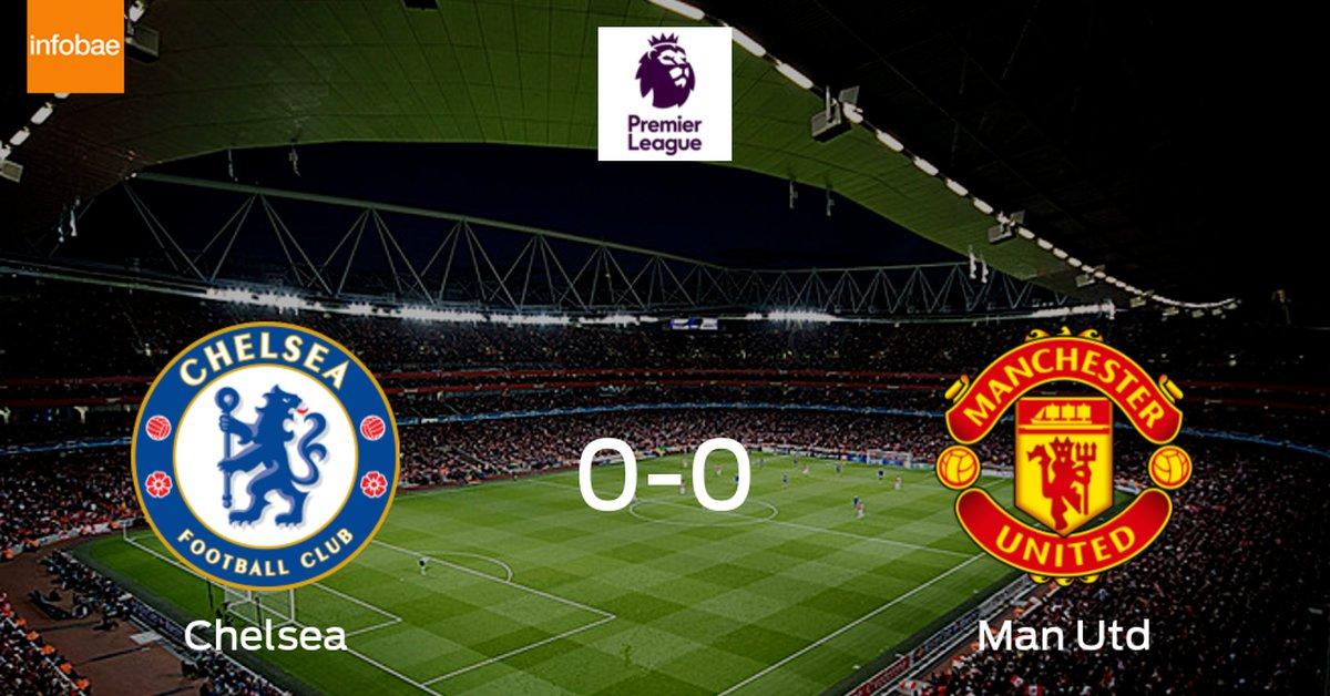 Chelsea y Manchester United se reparten los puntos en un partido sin goles (0-0) - Infobae