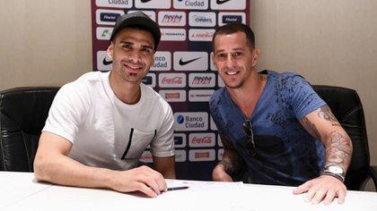 Fernando Monetti firmó contrato con San Lorenzo (@SanLorenzo)