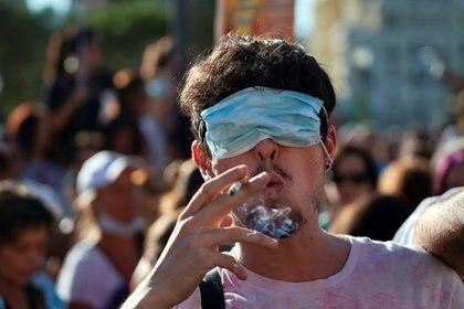 Madrid ha sido escenario de múltiples protestas contra el confinamiento y el uso obligatorio de mascarillas (Reuters)