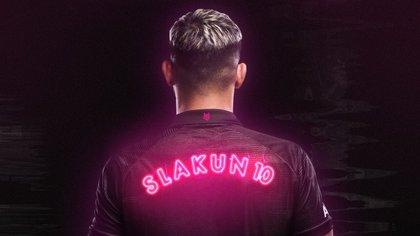 Slakun10 es el nombre con el cual Agüero se maneja en sus redes
