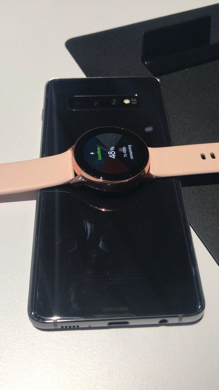 El Samsung Galaxy S10 en todos sus modelos funciona como un cargador inalámbrico