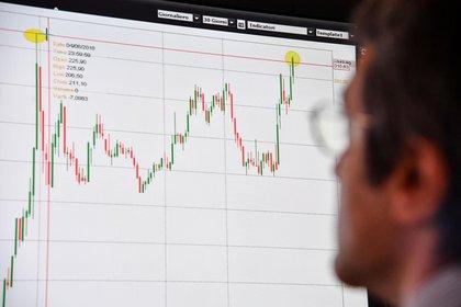 El ajuste de las restricciones al dólar perjudicó las valuaciones de acciones y bonos. (EFE)