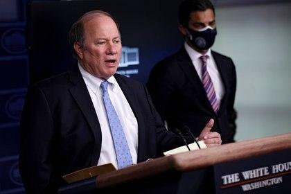 El alcalde de Detroit, Mike Duggan, al principio rechazó las vacunas de Johnson & Johnson (REUTERS/Carlos Barria)