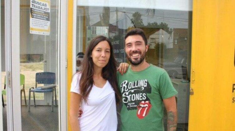 Jait y Figueroa se conocen, desde el tiempo de trabajar juntos en una productora audiovisual
