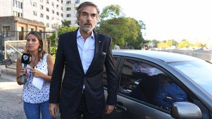 El juez Gustavo Hornos (Maximiliano Luna)