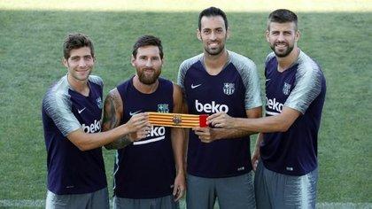 Lionel Messi, el primer capitán del Barcelona (BARCELONA FCB/MIGUEL RUIZ)