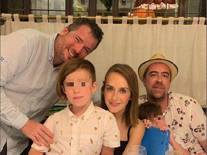 La familia se encuentra esperanzada por la mejora de Iñaki (Foto: IG @rafasarmiento)