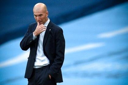 Zinedine Zidane no tuvo en cuenta al delantero en su proyecto -