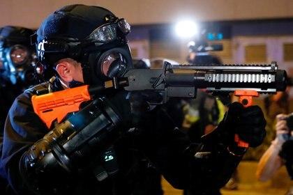 Policía antidisturbio. (REUTERS/Tyrone Siu)