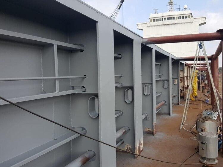 El buque también podrá ser utilizado para la instrucción de los marinos