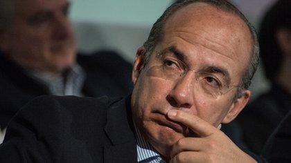 Felipe Calderón pidió no descartar una rebelión armada contra el régimen en México (Foto: Tercero Díaz/Cuartoscuro)