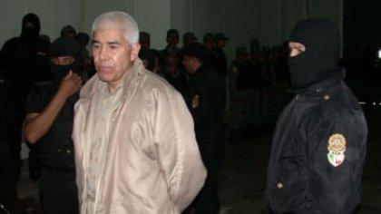 El capo pasó 28 años en la cárcel aunque lo habían sancionado con 40 (Foto: PFP/ Cuartoscuro)