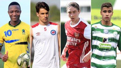 Estas son algunas de la futuras estrellas del fútbol mundial, según The Guardian.