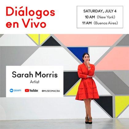 Sarah Morris es escritora y cineasta.