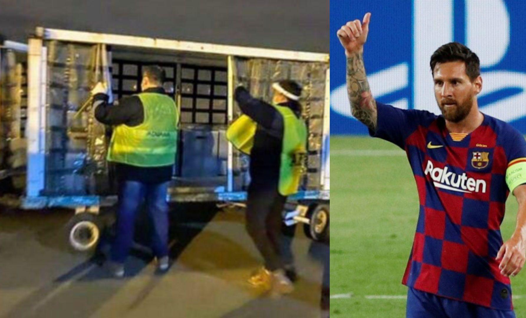 Messi donación Rosario