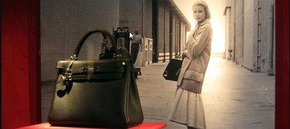 El bolso Kelly, uno de los más reconocidos de Hermes, en hinor a la princesa de Mónca Grace Kelly.