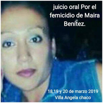 Maira Benítez tenía 17 años, era empleada doméstica y contaba con la Asignación Universal por Hijo (AUH). El 16 de diciembre del 2016 desapareció. Su mamá quiere enterrar su cuerpo y que su nieta tenga futuro.