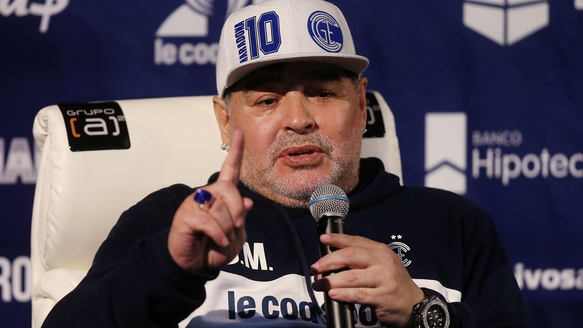 Diego Maradona (Foto: REUTERS/Agustin Marcarian)