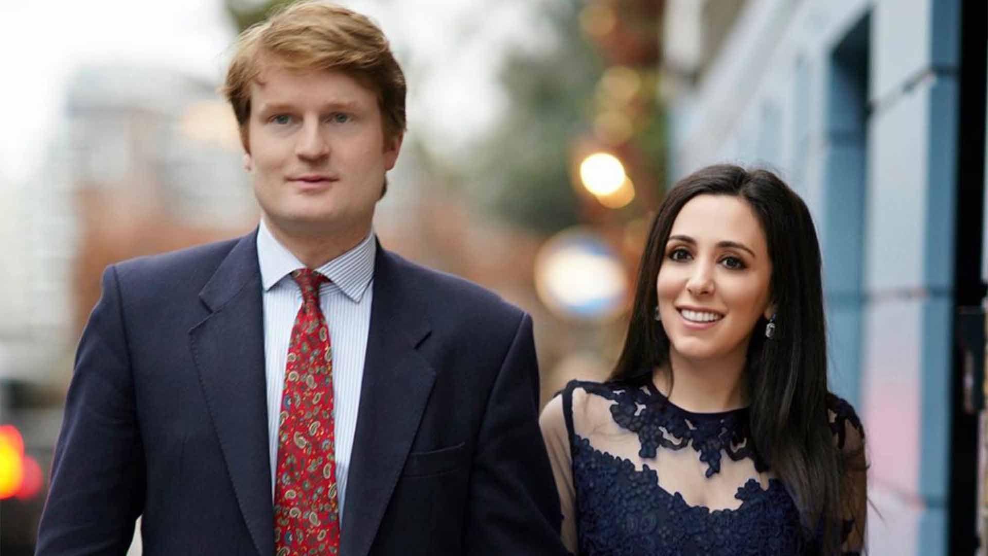 Hanna Jaff y Henry se conocieron en el verano de 2019 y cuatro meses después se comprometieron en matrimonio (Foto: Instagram/@hannajaff)