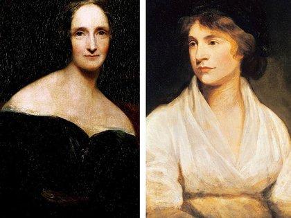 Mary Shelley y su madre, Mary Wollstoncraft, pionera del feminismo