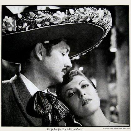 Gloria Marín y Jorge Negrete interpretaron 11 películas juntos durante su matrimonio (Foto: Twitter / @canal22)