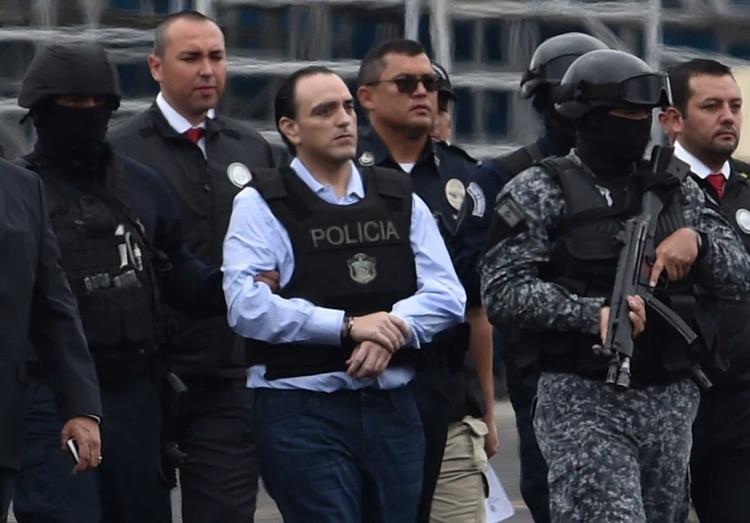 El ex gobernador de Quitana Roo fue detenido en Panamá el 4 d ejunio de 2017 (Foto: Rodrigo ARANGUA, AFP)