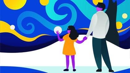 La experiencia del arte virtual, ¿llegó para quedarse? (Shutterstock)