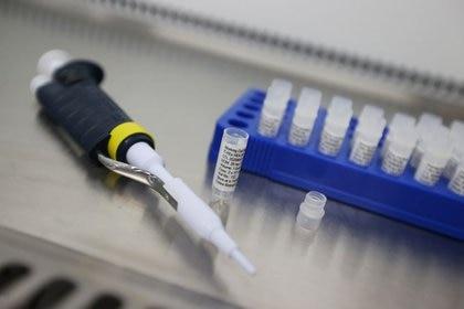 Equipo de laboratorio de Cobra Biologics, donde los científicos están trabajando en una posible vacuna para COVID-19, en Keele, Reino Unido. 30 de abril de 2020. REUTERS/Carl Recine