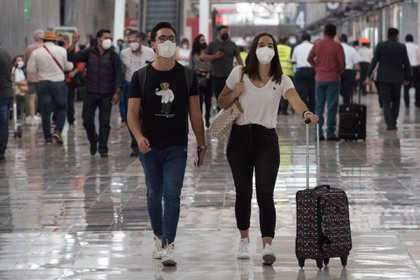 The Republic of Mexico was listed as one of the seven countries with a red flag for infections of the SARS-CoV-2 virus (Photo: Mario Jasso / Cuartoscuro)
