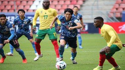 Los asiáticos vencieron 1 a 0 a Costa de Marfil y empataron a 0 contra Camerún (Foto: Instagram/japanfootballassociation)