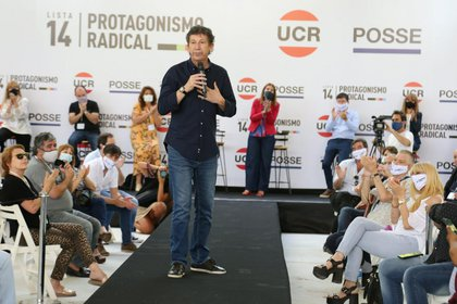 Posse led the event this afternoon in Ituzaingó