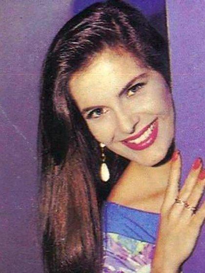 Mónica Santa María había comenzado a trabajar de niña en publicidades