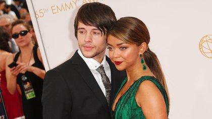 "La figura de ""Modern Family"" junto con su ex pareja, el actor Mat Prokop (Foto: Picture Perfect/Shutterstock -3033685hr-)"