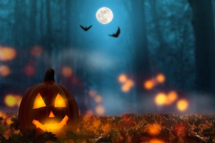 Halloween y la luna azul, dos eventos que coinciden cada 19 años
