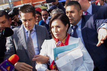 Rosario Robles se declarará culpable por el uso indebido del servicio público EFE/Madla Hartz/Archivo