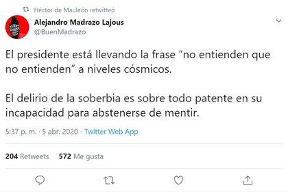 (Foto: Twitter/@BuenMadrazo)