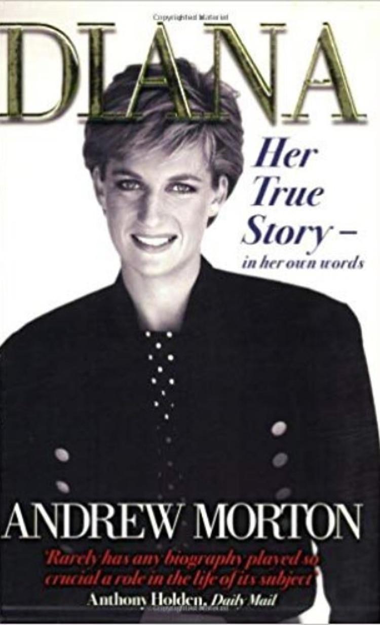 El libro de Morton spbre Lady Di se publicó en 1992
