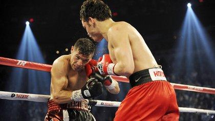El recordado combate se llevó a cabo en el 2012 (Getty)