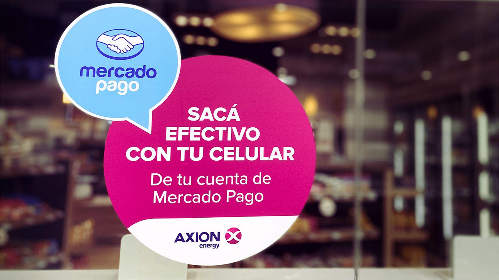 Mercado Pago - Axion Retiro de efectivo