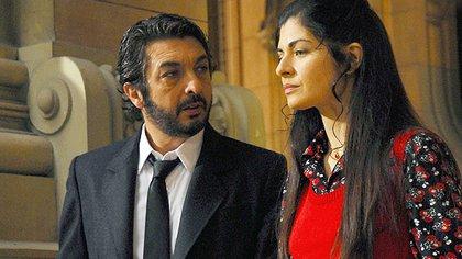 Ricardo Darín y Soledad Villamil en una escena de la película (Télam)