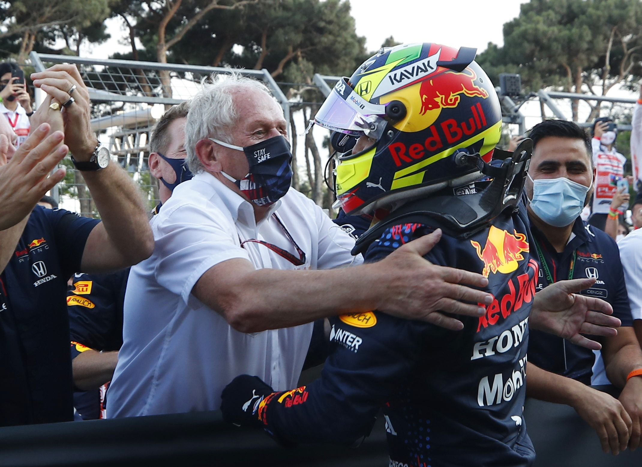 Helmut Marko es uno de los asesores en Red Bull que mayor polémica genera al exterior de la escudería (Foto: REUTERS/Maxim Shemetov)
