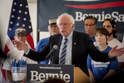 Bernie Sanders (Hilary Swift/The New York Times)
