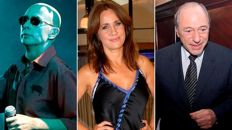 """Carlos """"Indio"""" Solari, Nancy Dupláa y Eugenio Zaffaroni, tres de los firmantes de la carta a favor de Alberto Fernández"""