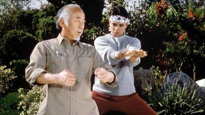 Para lograr el papel del señor Miyagi, el actor pasó por cinco castings