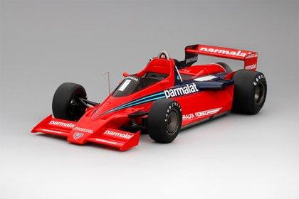 El Brabham que condujo Lauda al triunfo en el Gran Premio de Suecia, en 1978.