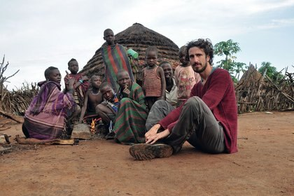 Juan Pablo Villarino en Etiopia.