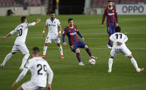 Dos goles, una asistencia y nuevo récord: el show de fútbol de Messi ante el Getafe