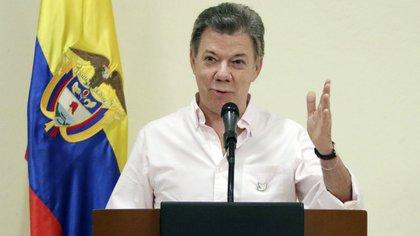 El presidente colombiano Juan Manuel Santos (EFE)