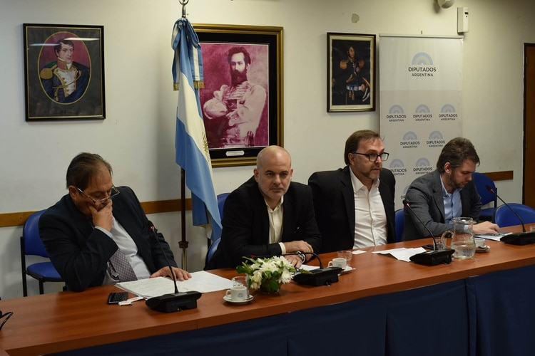 Los distintos expositores coincidieron en la necesidad de diagramar una política de defensa a mediano plazo ( Fernando Morales)